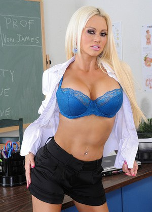 Blonde Teacher Pics